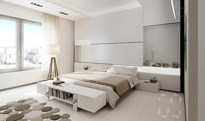 Nguyên tắc bố trí phòng ngủ phong cách tối giản