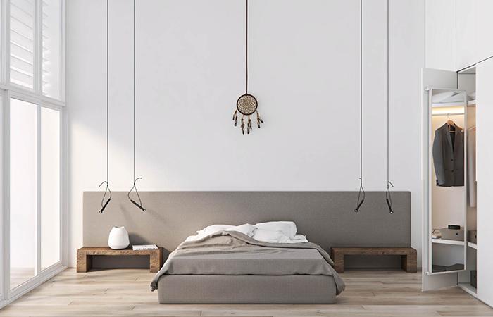 Cách sắp xếp phòng ngủ phong cách tối giản
