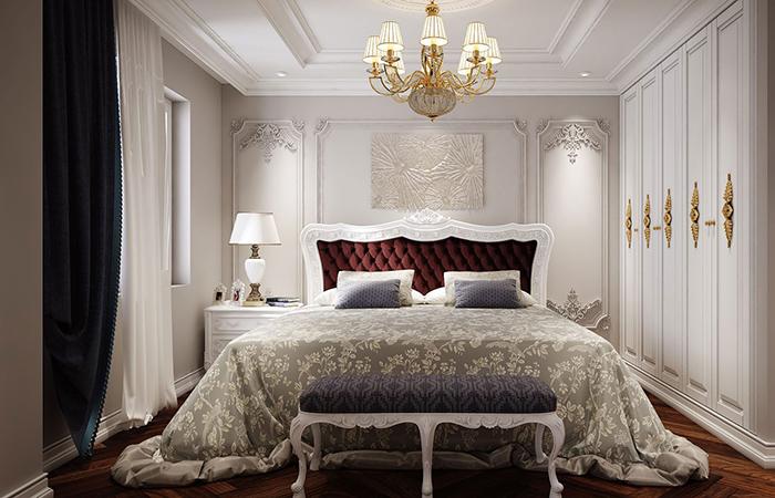 Trang trí nội thất phòng ngủ đẹp hợp phong thủy