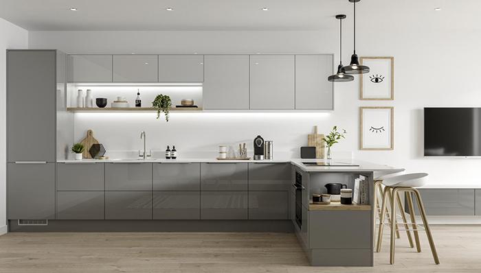 Trang trí nhà bếp đẹp với nội thất thông minh