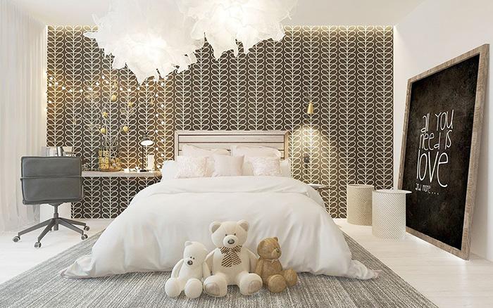 Ý nghĩa khi trang trí phòng ngủ cho con