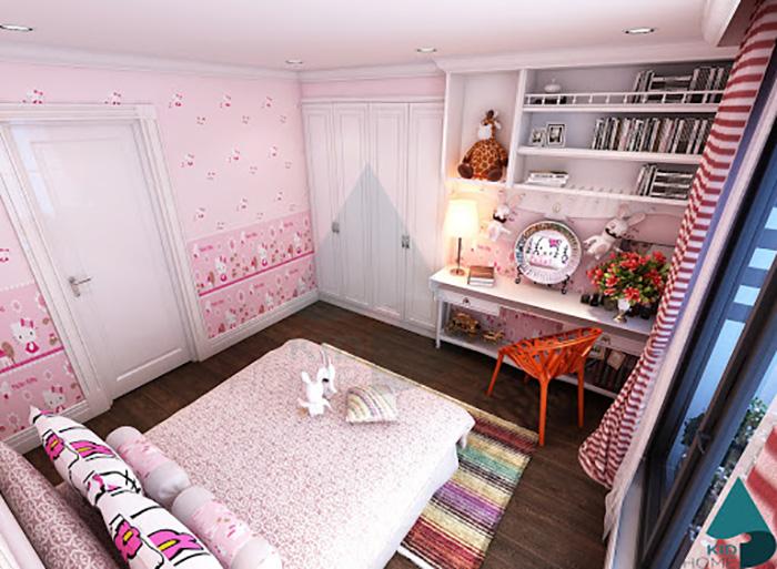 Chuẩn bị khi trang trí phòng ngủ cho con gái cá tính