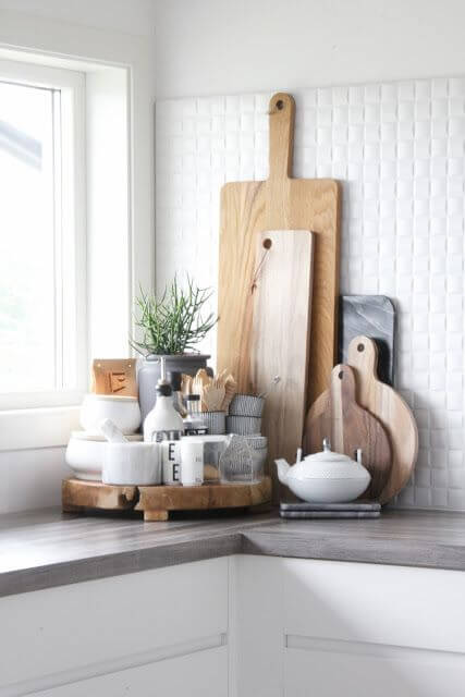 Cách để trang trí bàn bếp
