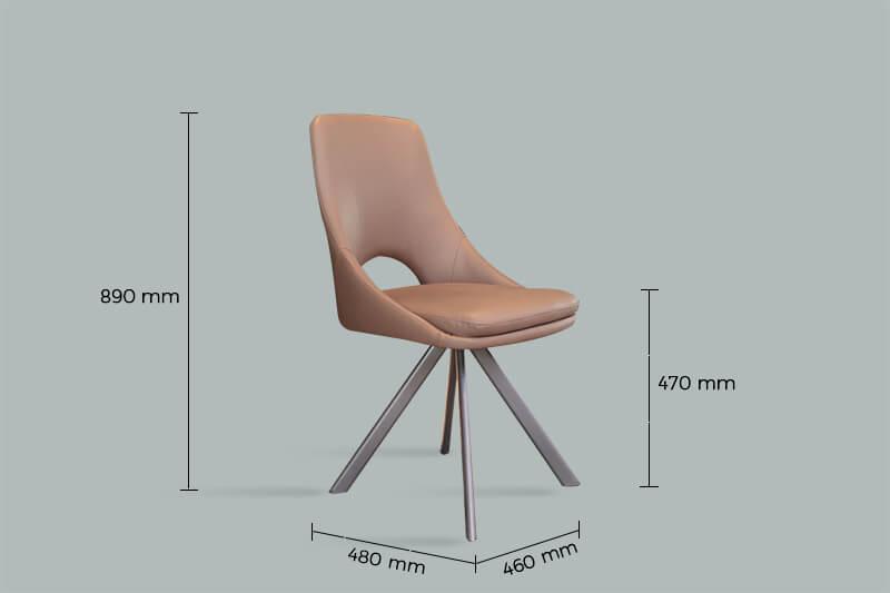 Thông số kích thước ghế ăn Y07