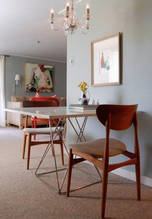 10 cách bố trí bàn ăn cho căn hộ nhỏ